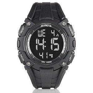 Relógio Masculino Cobalt Preto Es100 - Atrio