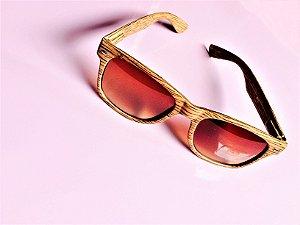 Óculos de Madeira