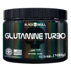 Glutamina Turbo Black Skull - 100g