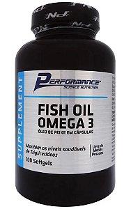 Fish Oil Ômega 3 Performance Nutrition - 100 caps
