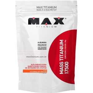 Hipercalórico Mass Titanium 17500 3kg Max Titanium