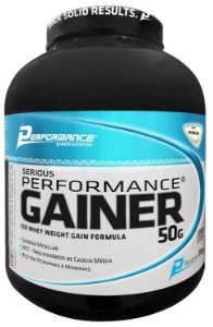 Hipercalórico Serious Gainer 3kg Performance Nutrition