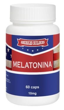 Melatonina 10mg American Builders 60 caps