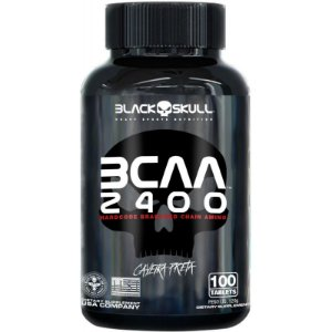 BCAA 2400 Black Skull 100 caps