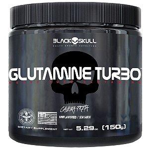 Glutamina Turbo Black Skull 150g