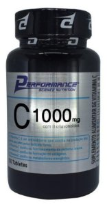Vitamina C 1G Performance Nutrition 100 tabletes