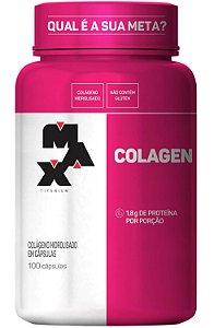 Colágeno Max Titanium 100 caps