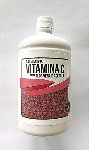 Suplemento de Vitamina C com Acerola e Aloe Vera  - 1 LITRO