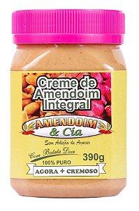 Creme de Amendoim com Batata Doce - 390g