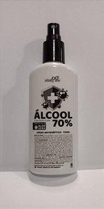 ÁLCOOL 70% SPRAY ANTISSÉPTICO COM ALOE VERA - 170ml