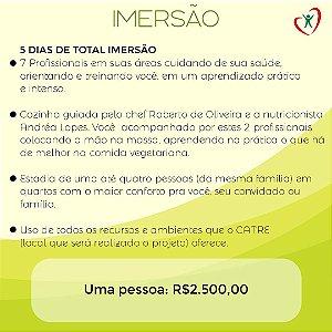 PROJETO IMERSÃO - UMA PESSOA