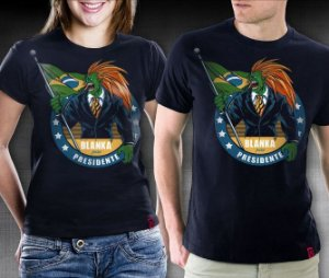 Camiseta Blanka Presidente - RedBug