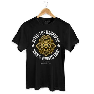 Camiseta Gotham There´s Always Light - BandUP!