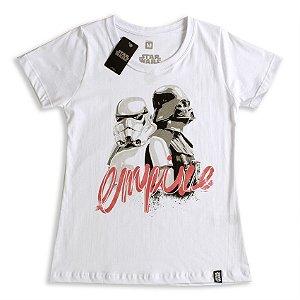 Camiseta Star Wars Empire (Feminina) - Studio Geek
