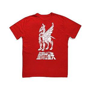 Camiseta Cavaleiros do Zodíaco Armadura de Pégasus - Studio Geek