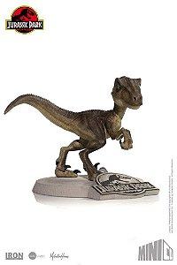 Velociraptor - Jurassic Park - MiniCo - Iron Studios
