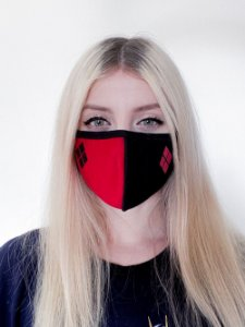 Máscara Harley Quinn Clássico - Piticas