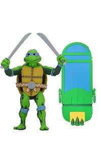 """Leonardo - Turtles in Time 7"""" - TMNT - Series 1 - Neca"""
