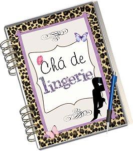Miolo Digital Álbum e livro de assinaturas para Chá de Lingerie