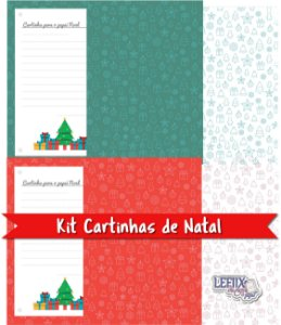Kit Cartinhas de Natal