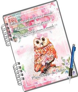 Miolo Digital Caderno Plano de Aula - Rosa ou Azul
