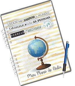Duo Miolo Digital Caderno Plano de Aula - Rosa e Azul
