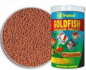 TROPICAL GOLDFISH COLOUR PELLET 36g + 25%
