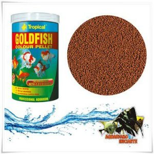 TROPICAL GOLDFISH COLOUR PELLET 360g