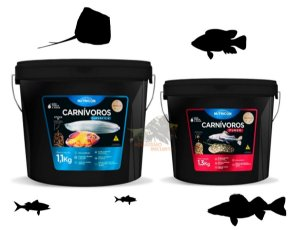 KIT CARNÍVOROS NUTRICON SUPERFICIE 1.100KG + FUNDO 1.300KG