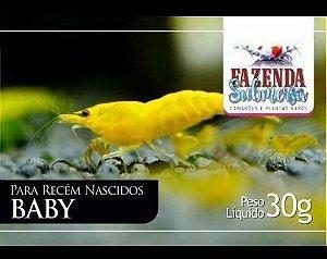 RAÇÃO BABY 30G - FAZENDA SUBMERSA