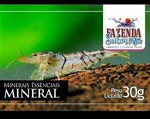 RAÇÃO MINERAL 30G - FAZENDA SUBMERSA