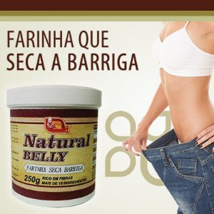 Natural Belly - Farinha seca barriga 250gr.