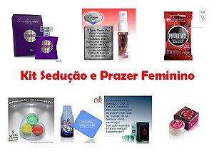 Kit Sedução e Prazer FEMININO - FRETE GRÁTIS