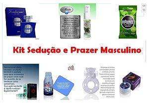 Kit Sedução e Prazer MASCULINO - FRETE GRÁTIS