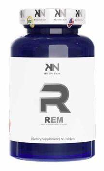 REM KN Nutrition - 60 Comprimidos fast dissolve (Melatonina + GABA + 5HTP + ZMA)