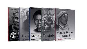 Coleção ''Heróis da Humanidade'' (5 livros)
