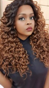 FRONT LACE LAIZA  13x6  (human hair blend )