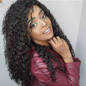 Peruca half Wig Demi COR #2  (fibra premium)