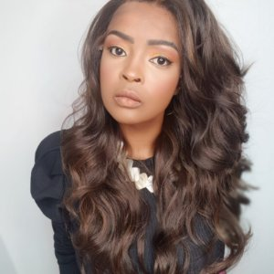 Front Lace VALENTINA(human hair blend) #4/30