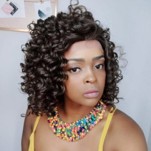 Peruca Wholle Front Lace heloisa #4 (human hair blend)