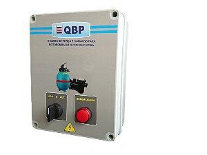 QBP -Quadro de Comando para Motobomba do Filtro de Piscina+Programador de Horário