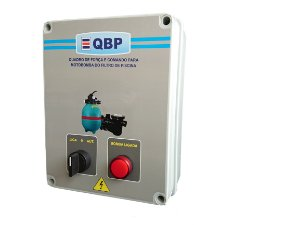 QBP -Quadro de Comando para Motobomba do Filtro de Piscina+Relé mais Controle Remoto