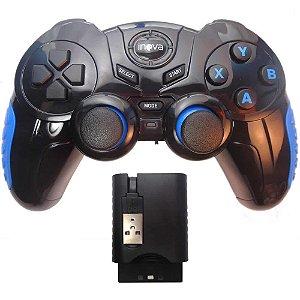 CONTROLE SEM FIO GAME PAD 7EM1 INOVA CON-7190