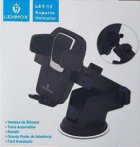 SUPORTE VEICULAR TRAVA AUTOMATICA LEHMOX LEY-12