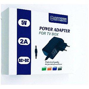 FONTE PARA TV BOX 5V 2A POWER ADAPTER AOWEIXUN ORVESION