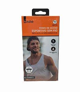 FONE DE OUVIDO BASIKE ESPORTIVO BLUETOOTH BA-FON6671