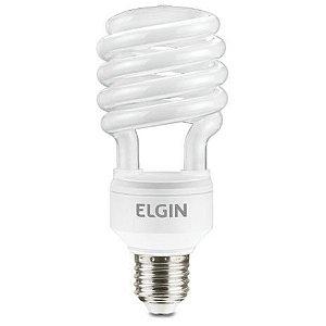 LAMPADA FLUORESCENTE ESPIRAL 25W,127V,6400K,E27 ELGIN
