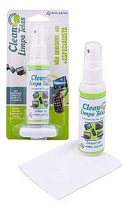 CLEAN LIMPA TELAS BLISTER 60ML IMPLASTEC