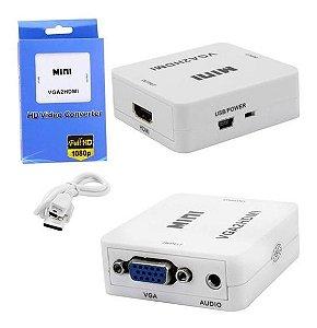 CONVERSOR DE VGA PARA HDMI VGA2HDMI KAP