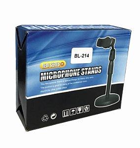 SUPORTE DE MESA PARA CELULAR MICROPHONE STANDS BL-214